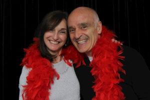 Chris Birkett and Joan Prowse